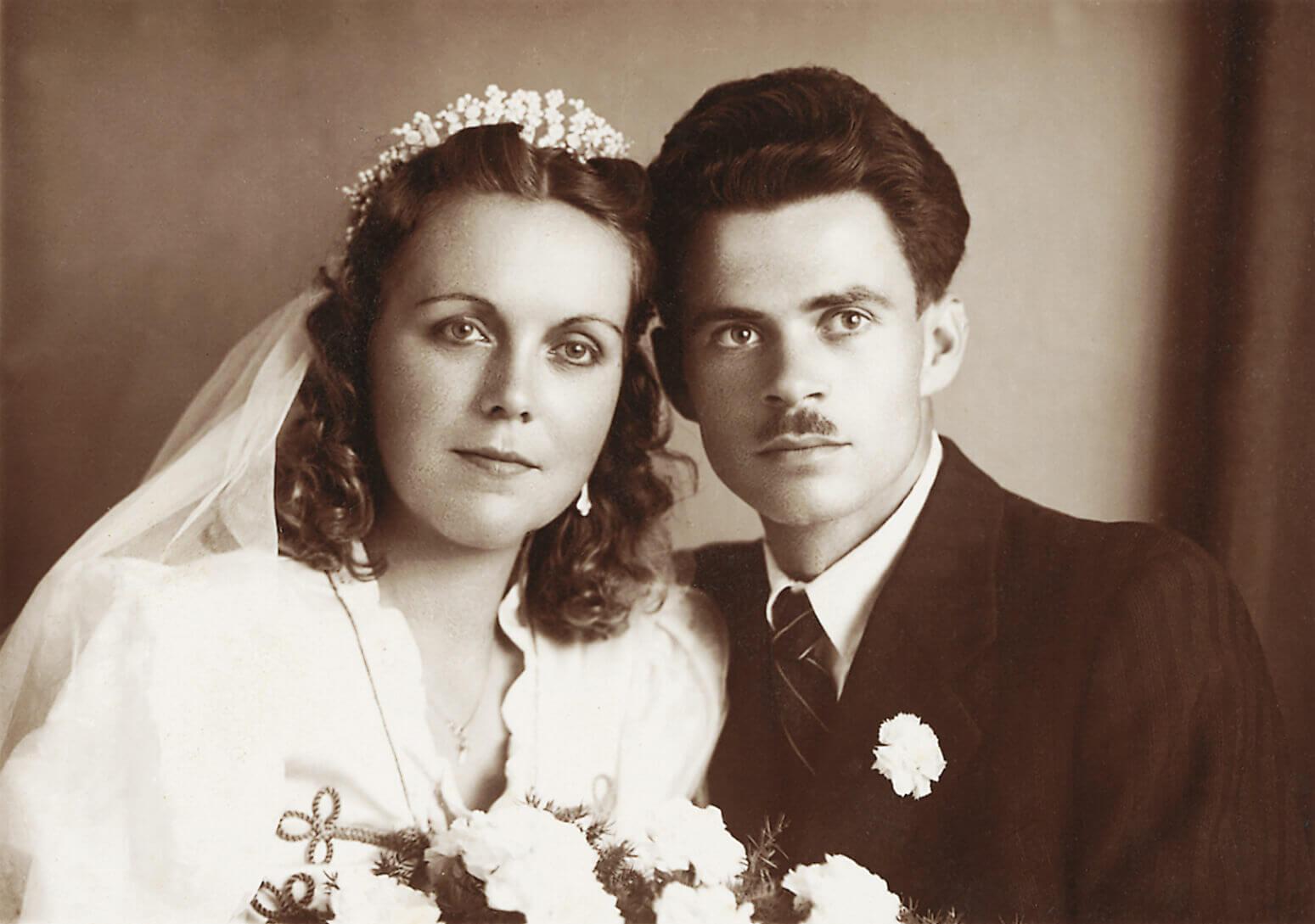 Az ifjú pár (Záhony, 1947. augusztus 20.)