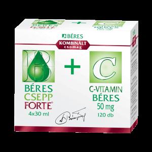 Béres CSepp Forte + C-vitamin kombinált csomag