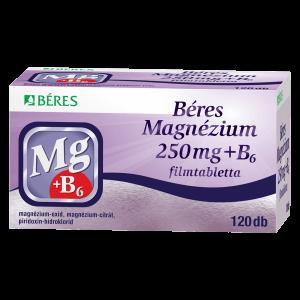Béres Magnézium 250mg + B6