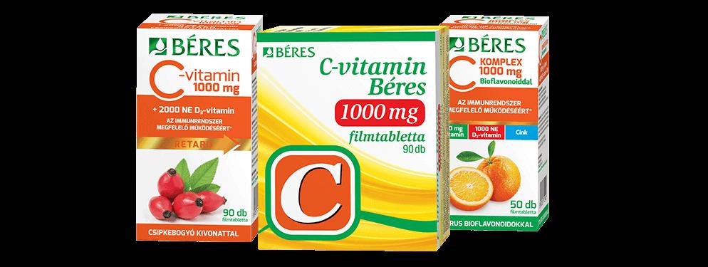 Béres C-vitaminok
