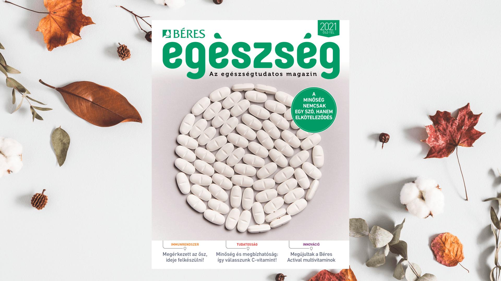 Béres Egészség magazin - ősz
